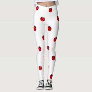 Lady bugs leggings
