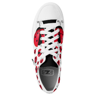 Lady Bugs Low Tops