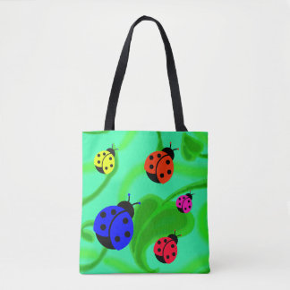 """""""Lady Bugs"""" Tote Bag"""