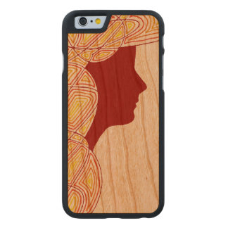 Lady Carved® Cherry iPhone 6 Slim Case