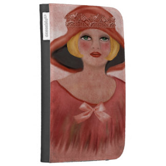 lady kindle 3G cover