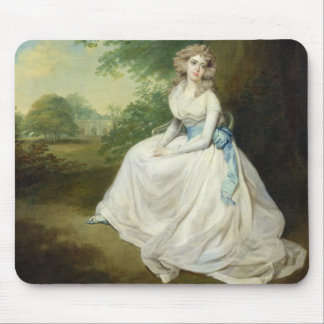 Lady Chambers, c.1789 (oil on canvas) Mouse Pad