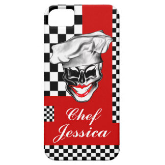 Lady Chef Skull iPhone 5 Cases