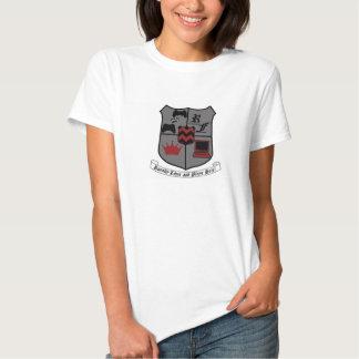Lady Crest Tee Shirts