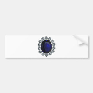 Lady Diana Engagement Ring Bumper Sticker