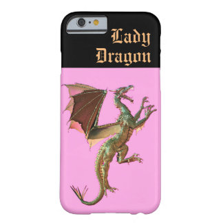 Lady Dragon Barely There iPhone 6 Case