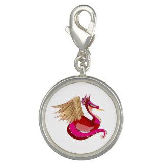 Lady Dragon Charm