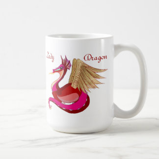 Lady Dragon Design Mug