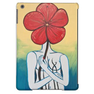 Lady Flower #2 for your Ipad iPad Air Cover
