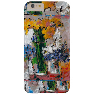Lady flowers and vase iPhone 6 case