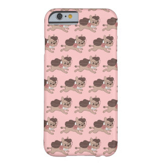 Lady Frenchie is going out for a walk Barely There iPhone 6 Case