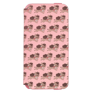 Lady Frenchie is going out for a walk Incipio Watson™ iPhone 6 Wallet Case