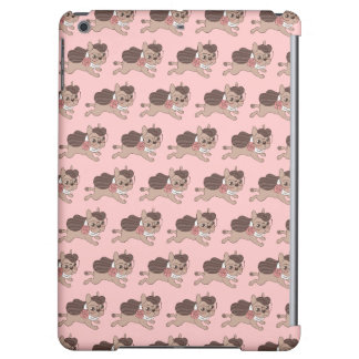 Lady Frenchie is going out for a walk iPad Air Cover