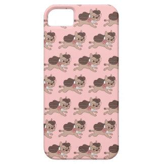 Lady Frenchie is going out for a walk iPhone 5 Cover