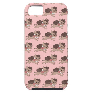 Lady Frenchie is going out for a walk iPhone 5 Covers