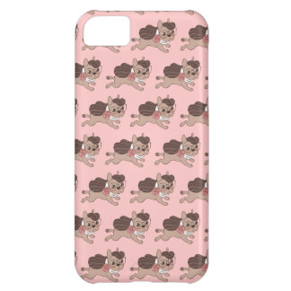 Lady Frenchie is going out for a walk iPhone 5C Case