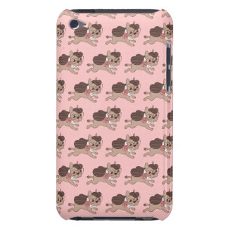 Lady Frenchie is going out for a walk iPod Touch Cases