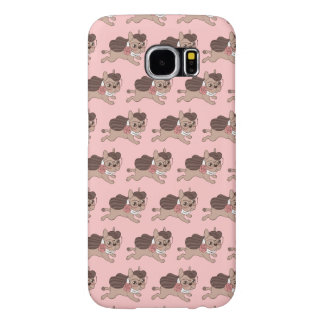 Lady Frenchie is going out for a walk Samsung Galaxy S6 Cases