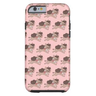 Lady Frenchie is going out for a walk Tough iPhone 6 Case