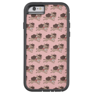 Lady Frenchie is going out for a walk Tough Xtreme iPhone 6 Case