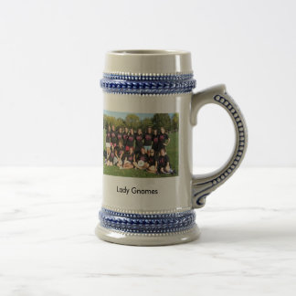 Lady Gnomes Beer Stein