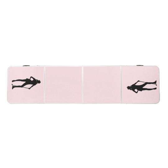 Lady Golf Pink Sport Beer Pong Table