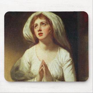 Lady Hamilton Praying Mouse Pads