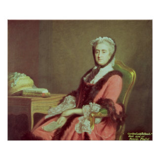 Lady Holland, 1766 Poster