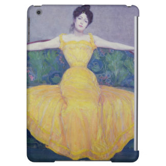 Lady in a Yellow Dress, 1899 iPad Air Covers