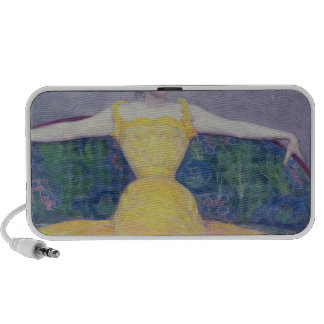 Lady in a Yellow Dress, 1899 Laptop Speakers