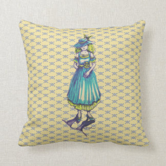"""""""Lady in Ink"""" Pillow"""