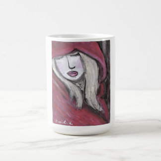 Lady in Red Mug (You can Customize)