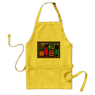 'LADY IN THE KITCHEN'  APRON
