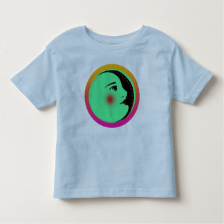 Lady in the Moon Baby T-Shirt