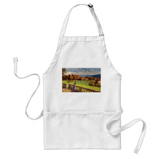 Lady in the Park Apron