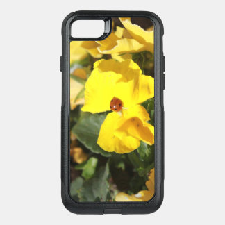 Lady in Yellow cell phone case