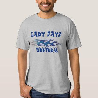 Lady Jays Softball - Personalize It! Shirts