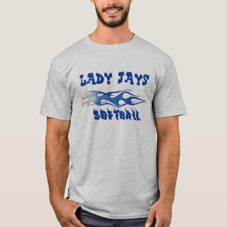 Lady Jays Softball - Personalize It! T-Shirt