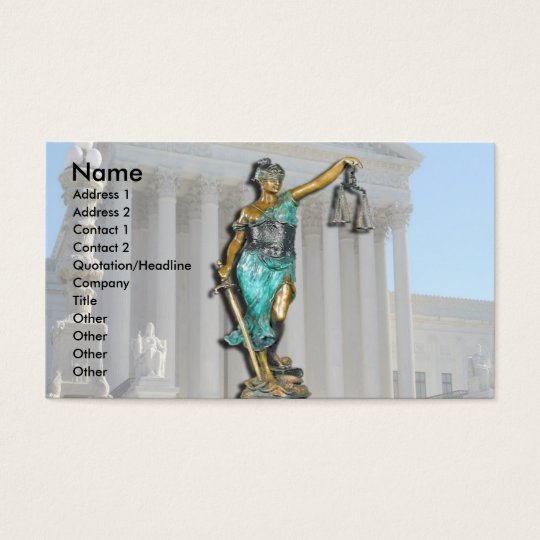 Lady Justice on Supreme Court