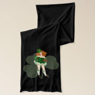 Lady leprechaun St. Patrick's day Scarf