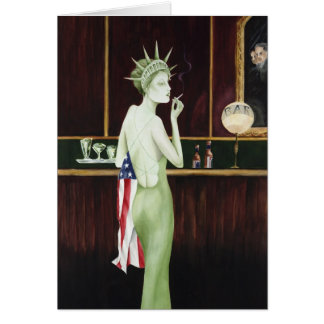 Lady Liberty Card