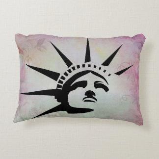 Lady Liberty Decorative Cushion