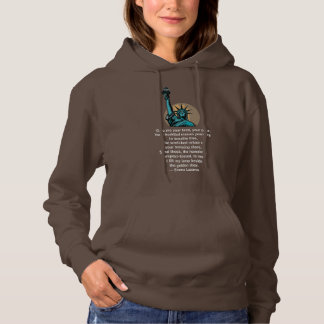 Lady Liberty hoodie - for marches or every day!