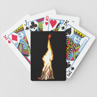 Lady Liberty in the Flames Poker Deck