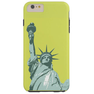 Lady Liberty Lime Green Phone Case