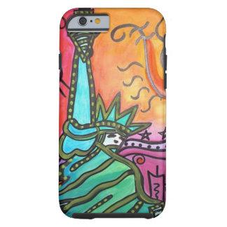 Lady Liberty phone case art