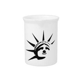 Lady Liberty Pitcher