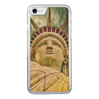 Lady Liberty, Statue of Liberty Carved iPhone 7 Case