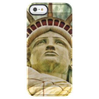 Lady Liberty, Statue of Liberty Clear iPhone SE/5/5s Case