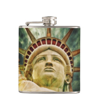 Lady Liberty, Statue of Liberty Hip Flask